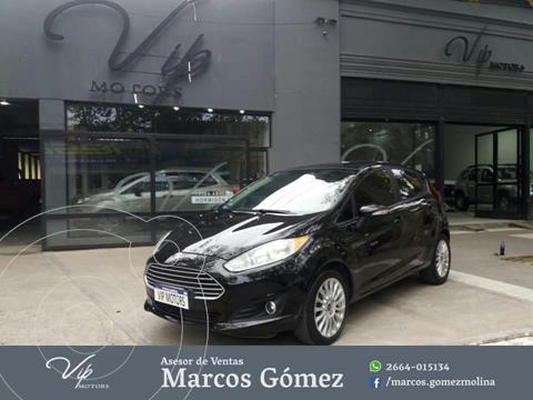 Ford Fiesta One Edge Plus usado (2014) color Negro precio $1.280.000