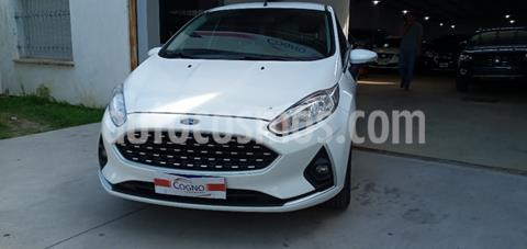 Ford Fiesta One Edge Plus usado (2018) color Blanco precio $1.550.000