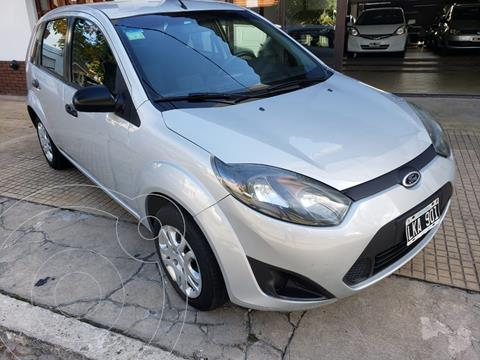 Ford Fiesta One Edge Plus usado (2012) color Gris Grafito precio $720.000