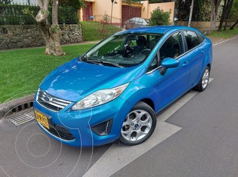 Ford Fiesta Sedan Sportback usado (2012) color Azul precio $30.500.000