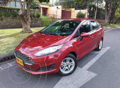 Ford Fiesta Sedan SE Sportback Aut usado (2017) color Rojo precio $43.900.000