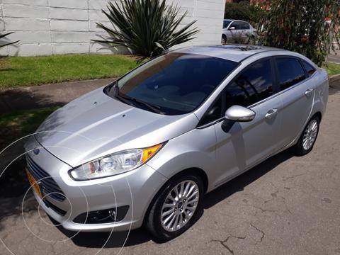 Ford Fiesta Sedan Titanium Aut usado (2014) color Plata Puro precio $35.700.000