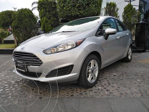 Ford Fiesta Sedan SE Aut usado (2019) color Plata financiado en mensualidades(enganche $52,500)