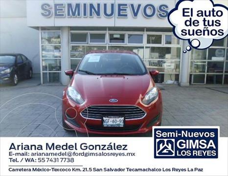 Ford Fiesta Sedan SE Aut usado (2018) color Rojo precio $198,000