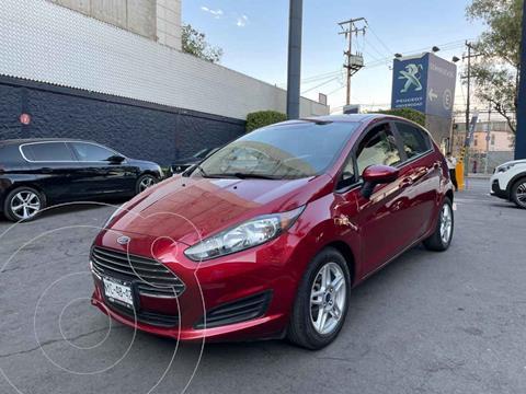 Ford Fiesta Sedan SE Aut usado (2017) color Rojo precio $179,900