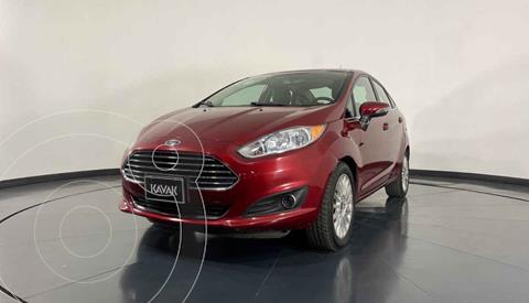 Ford Fiesta Sedan SE Aut usado (2015) color Rojo precio $182,999