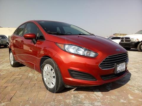 Ford Fiesta Sedan S Aut usado (2018) color Rojo precio $174,000