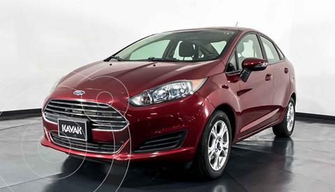Ford Fiesta Sedan SE Aut usado (2015) color Rojo precio $159,999