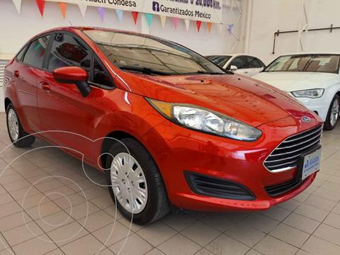 Ford Fiesta Sedan S usado (2019) color Rojo precio $208,000
