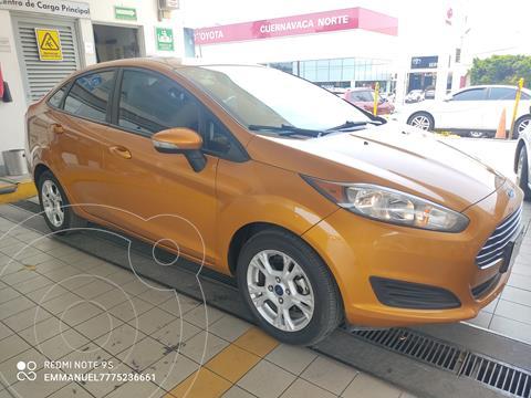 Ford Fiesta Sedan SE usado (2016) color Naranja precio $159,900