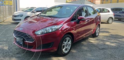 Ford Fiesta Sedan SE usado (2016) color Rojo precio $160,000