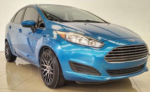 Ford Fiesta Sedan S usado (2016) color Azul Brillante financiado en mensualidades(enganche $36,000 mensualidades desde $4,800)