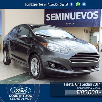 Ford Fiesta Sedan SE usado (2017) color Gris precio $185,000