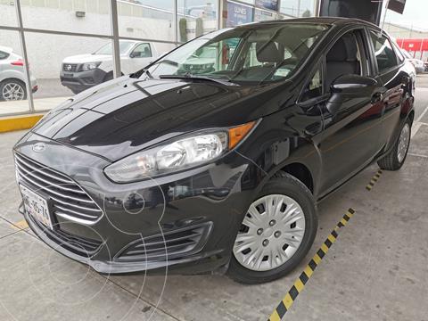 Ford Fiesta Sedan S usado (2015) color Negro Profundo financiado en mensualidades(enganche $35,000 mensualidades desde $5,447)