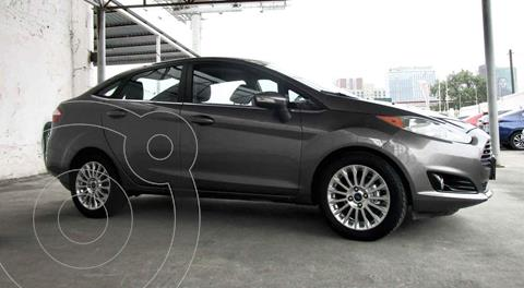 Ford Fiesta Sedan Titanium Aut usado (2014) color Gris precio $149,000
