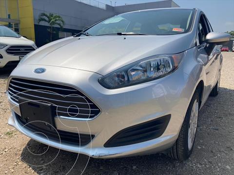 Ford Fiesta Sedan S usado (2019) color Plata precio $185,000