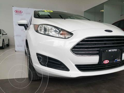 Ford Fiesta Sedan S usado (2015) color Blanco precio $130,000