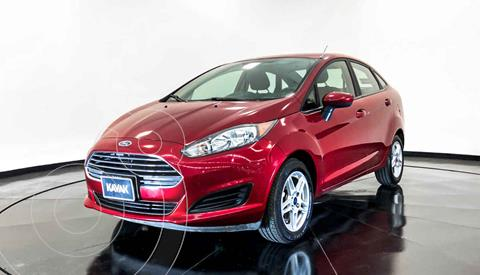 Ford Fiesta Sedan SE Aut usado (2018) color Rojo precio $164,999