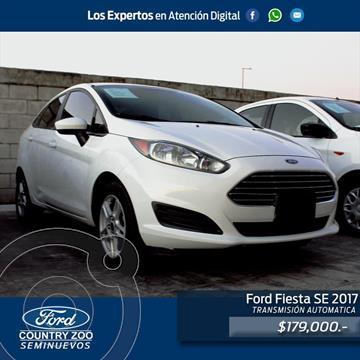 Ford Fiesta Sedan SE usado (2017) color Blanco precio $179,000