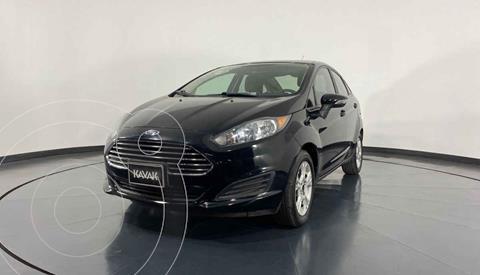 Ford Fiesta Sedan Version usado (2015) color Negro precio $159,999