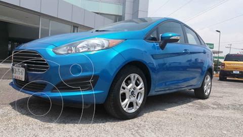 Ford Fiesta Sedan SE Aut usado (2015) color Azul precio $130,000