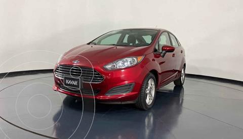 Ford Fiesta Sedan SE Aut usado (2018) color Rojo precio $179,999