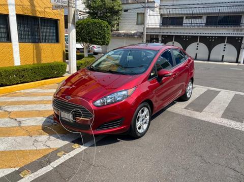 Ford Fiesta Sedan SE Aut usado (2016) color Rojo precio $149,900