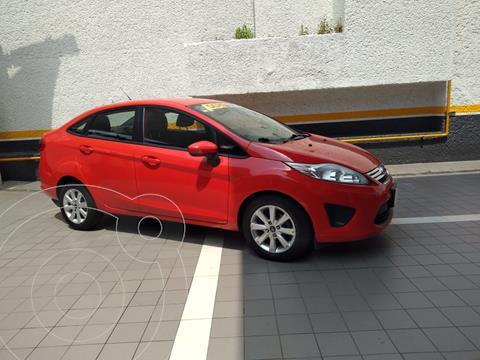 Ford Fiesta Sedan SE Aut usado (2013) color Rojo precio $128,000