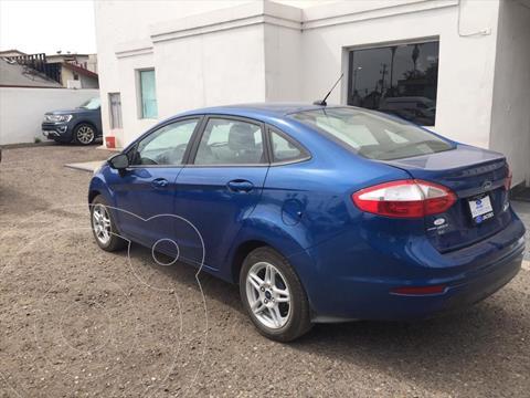 Ford Fiesta Sedan SE Aut usado (2018) color Azul Electrico precio $195,000