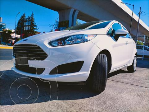 Ford Fiesta Sedan S usado (2019) color Blanco financiado en mensualidades(enganche $220,000)