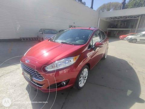 Ford Fiesta Sedan Titanium Aut usado (2017) color Rojo precio $209,000
