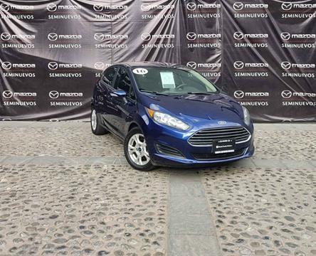 Ford Fiesta Sedan SE Aut usado (2016) color Azul precio $165,000