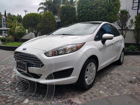 Ford Fiesta Sedan S Aut usado (2019) color Blanco financiado en mensualidades(enganche $50,225)
