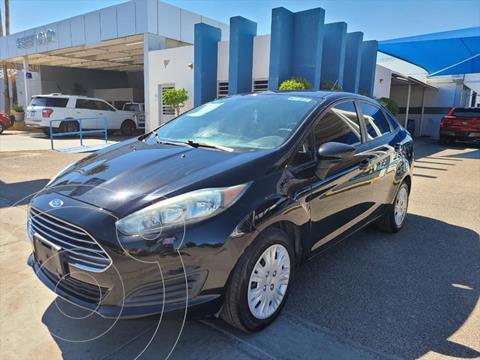 Ford Fiesta Sedan 4P S AUT 1.6L usado (2014) color Negro precio $130,000
