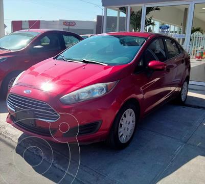 Ford Fiesta Sedan S L4/1.6 MAN usado (2016) color Rojo precio $165,000