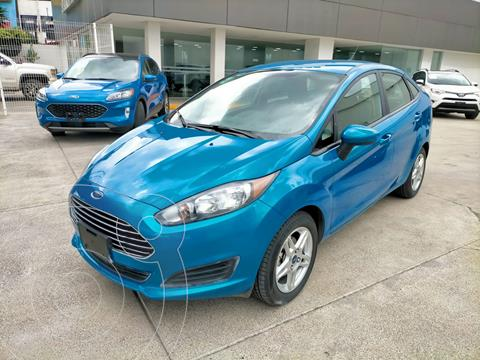 Ford Fiesta Sedan SE Aut usado (2017) color Azul Brillante precio $196,000