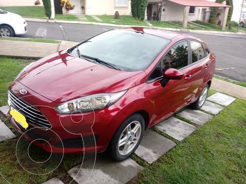 Ford Fiesta Sedan SE usado (2017) color Rojo Granate precio $145,000