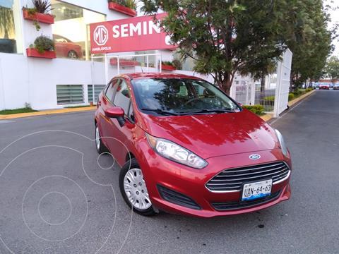 foto Ford Fiesta Sedán S usado (2016) color Rojo Rubí precio $165,000