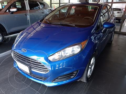 Ford Fiesta Sedan SE Aut usado (2018) color Azul precio $204,000