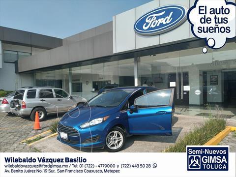 Ford Fiesta Sedan SE Aut usado (2019) color Azul Electrico precio $220,000