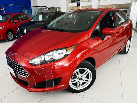 Ford Fiesta Sedan SE usado (2019) color Rojo Rubi precio $254,000