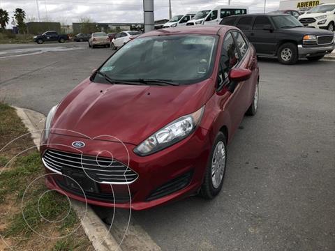 Ford Fiesta Sedan S usado (2016) color Rojo precio $130,000