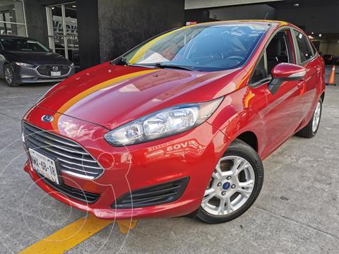Ford Fiesta Sedan SE Aut usado (2016) color Rojo Rubi precio $173,000