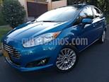 Foto venta Carro Usado Ford Fiesta Sedan Titanium Aut (2015) color Azul Flama precio $38.900.000