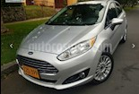 Foto venta Carro usado Ford Fiesta Sedan Titanium Aut (2014) color Plata Puro precio $36.900.000
