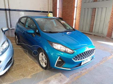 Ford Fiesta   1.6 5P S PLUS (KD) usado (2018) color Azul precio $1.400.000