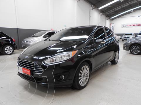 Ford Fiesta  5P Titanium Kinetic Design usado (2015) color Negro Profundo precio $1.220.800