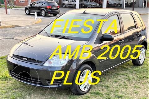Ford Fiesta  5P Ambiente Plus usado (2005) color Gris precio $640.000