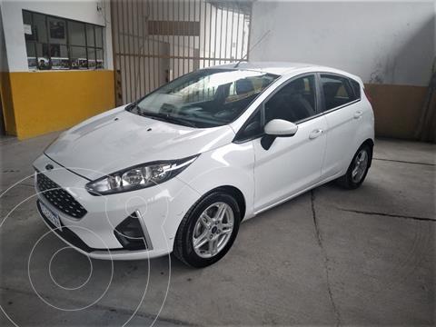 Ford Fiesta  5P Ambiente Plus (LN) usado (2018) color Blanco precio $1.250.000