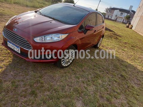 Ford Fiesta  5P Titanium Kinetic Design usado (2017) color Rojo precio $1.050.000